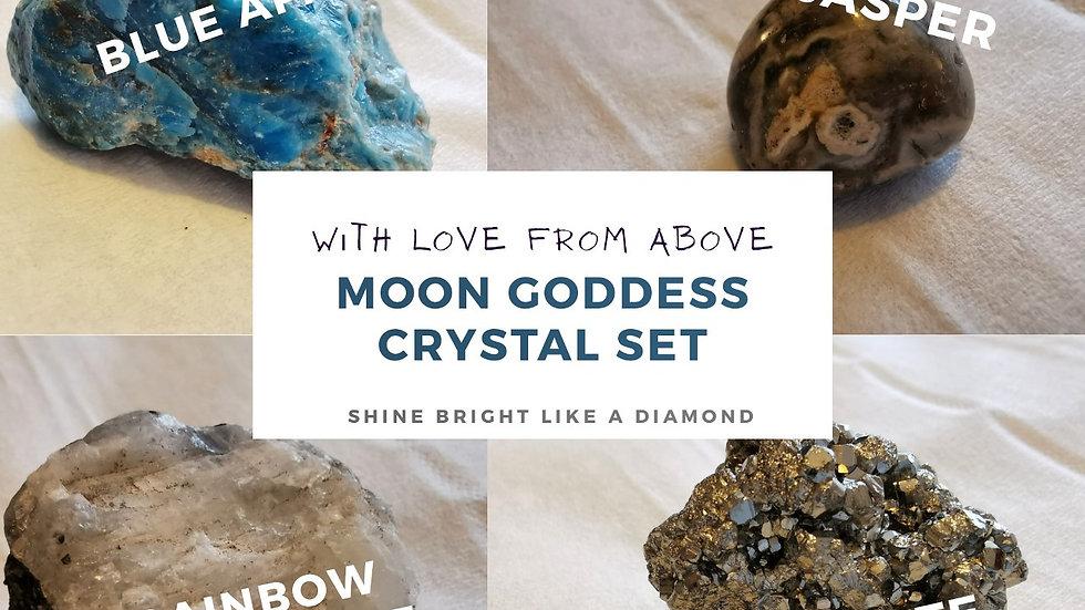 Moon Goddess Crystal Set