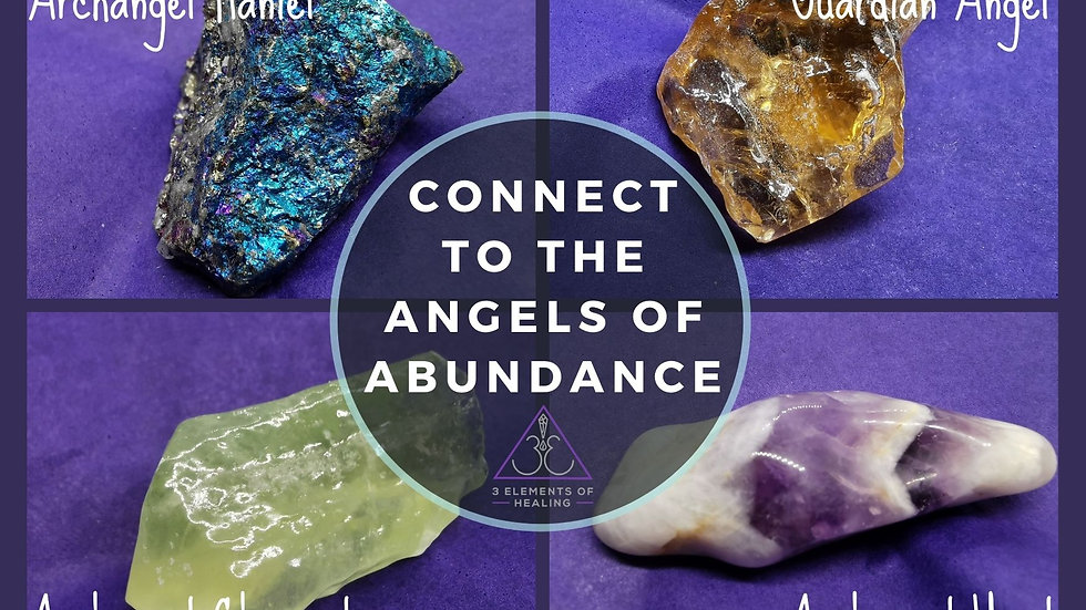 Connect To The Angels Of Abundance
