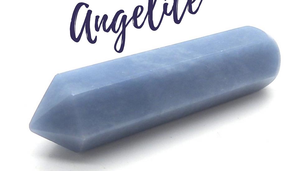 Angelite Crystal Acu-Wand