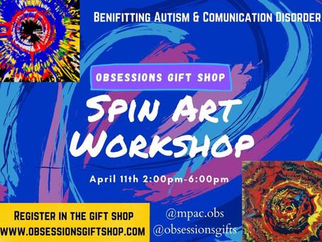 Register Now: Spin Art Work Shop