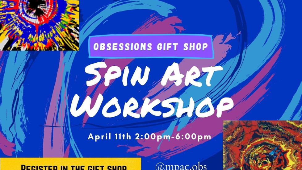Register Now: Spin Art Work Shop