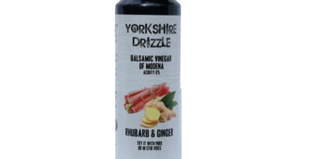 Rhubarb & Ginger Balsamic Vinegar 250ml