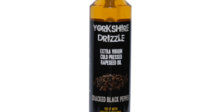 Cracked Black Pepper Rapeseed Oil 250ml