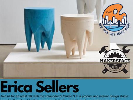 Erica Sellers @ Makerspace NYC in BK