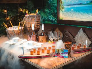 Merchant logo Laki Kane Cocktail Bar & Thai Restaurant. London. 2021