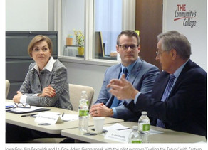 Gov. Kim Reynolds learns about 'Fueling the Future' program