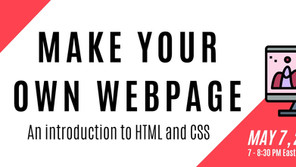 Intro To HTML/CSS Workshop