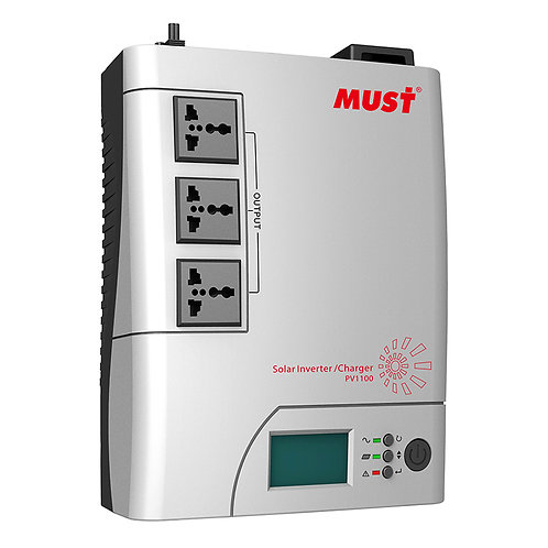 MUST 1.2KVA SOLAR INVERTER/CHARGER