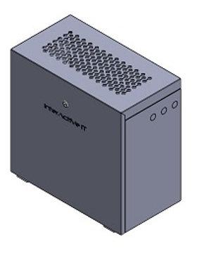 VERTICAL WALL MOUNT 4.5U ( 2 X US2000B )