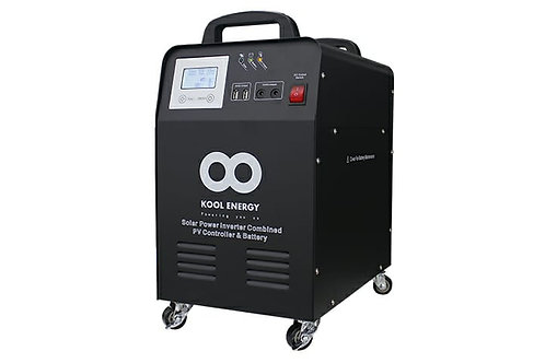 KOOL ENERGY 1000WATT PLUG AND PLAY PORTABLE INVERTER SYSTEM ALL IN ONE