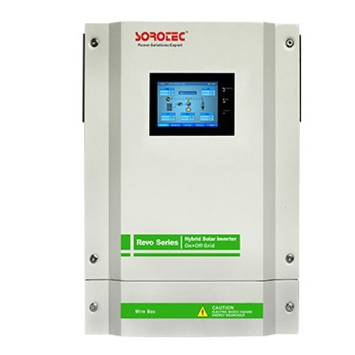 SOROTEC 5.5KW REVO-II ON/OFF GRID ENERGY STORAGE HYBRID INVERTER WITH TOUCH SCRE