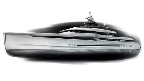 90m Megayacht concept