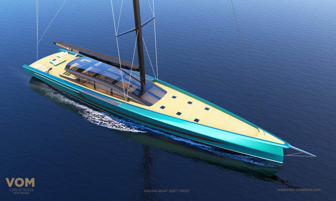 PROJECT GRISS 150FT SAILING BOAT