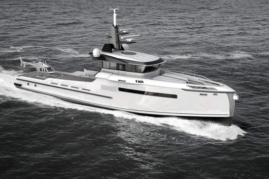 SEA LOCK 40M - EXTERIOR DESIGN