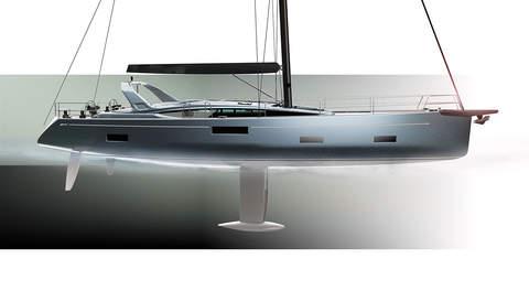SHIPMAN 59 - EXTERIOR DESIGN