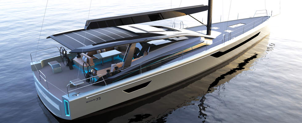 PROJECT EOS 70FT SAILING BOAT