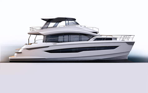 AQUILA 54 EXTERIOR DESIGN/ For J&J /IN CONSTRUCTION