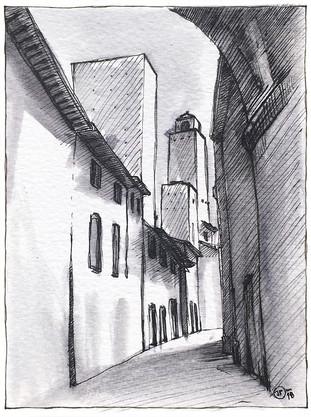 San Gimignano / Tuscany