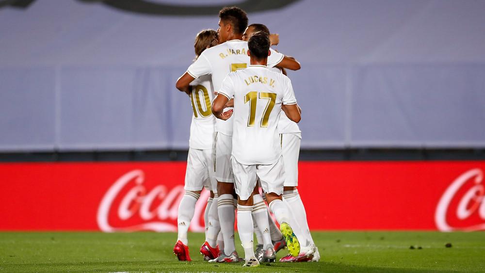 Real Madrid Goal Celebration