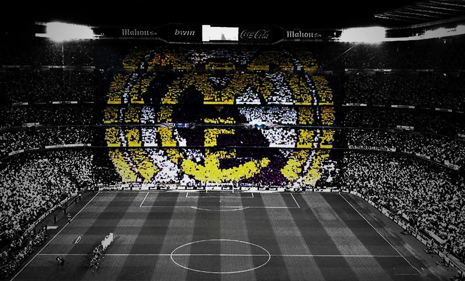Santiago Bernabeu and Badge