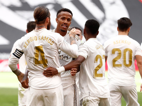 Real Madrid gain valuable three points against Athletic Club at San Mames