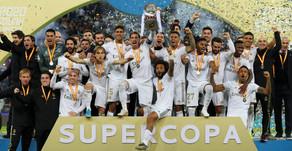 Campeones de la Supercopa de Espana: Jeddah is painted Royal White.