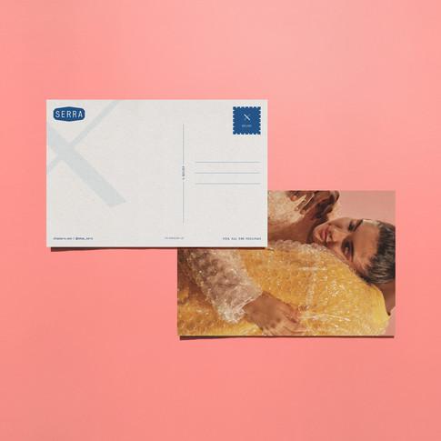 Relief Postcard