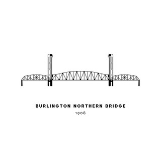 Portland Bridges Illustration Series