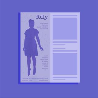Print Ad | Folly