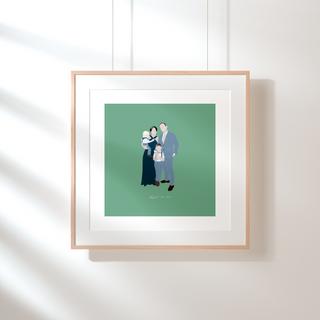 Family Portrait Illustration | Freelance