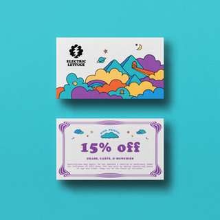 VIP 15% Off Card | Electric Lettuce