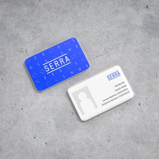 Employee ID Card Design | Serra