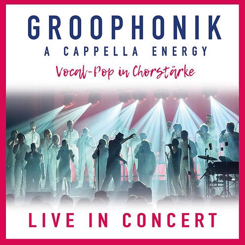 """CD """"Groophonik - Life in concert"""""""