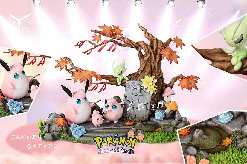 Ye Yu Studio - Pokemon Celebi & Jigglypuff Family