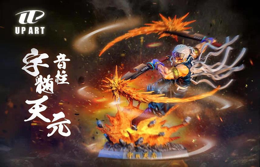 Up Art Studio Demon Slayer Sound Pillar Uzui Tengen