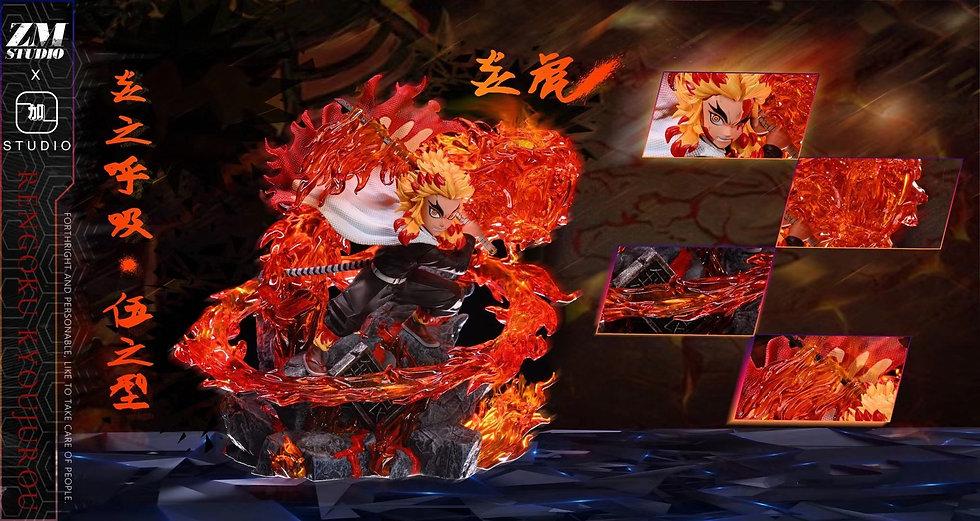 Zm x Plus One Studio - Demon Slayer Flame Hashira Rengoku Kyojuro