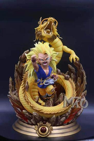 Mao Studio - Dragon Ball GT Son Goku Super Saiyan 3 Wrath of the Dragon