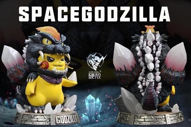 Hard Shell Studio - Pokemon Pikachu cosplay Godzilla