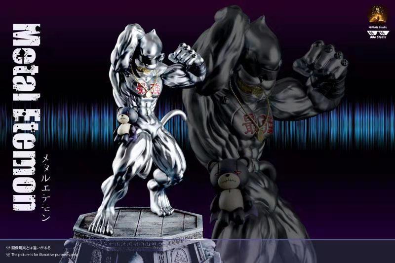 BBA Studio-Digimon Metal Etemon