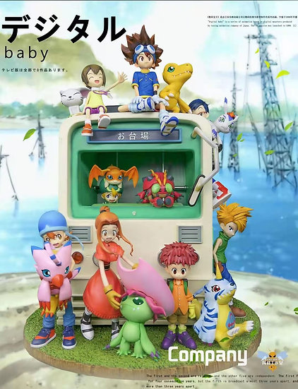 Wasp Studio - Digimon First Generation All Members