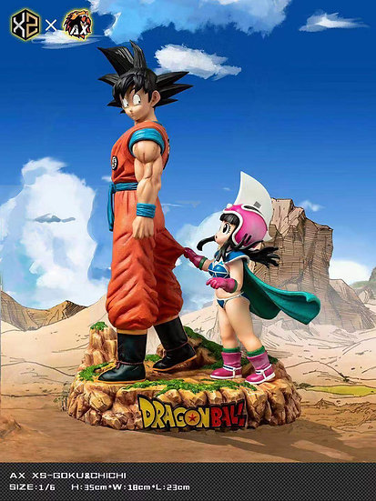 XS & AX Studio Dragon Ball Goku & Chichi