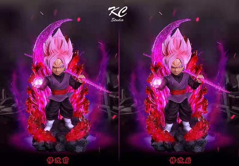 Kc Studio - Dragon Ball Pink Rose Goku Black