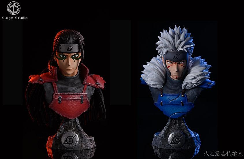 Surge Studio - Naruto Senju Hashirama & Senju Tobirama