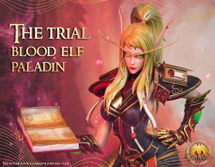 Faith Art Studio - WOW Blood Elf Paladin