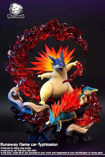 Black Dog Studio Pokemon Typhlosion Evolution Series