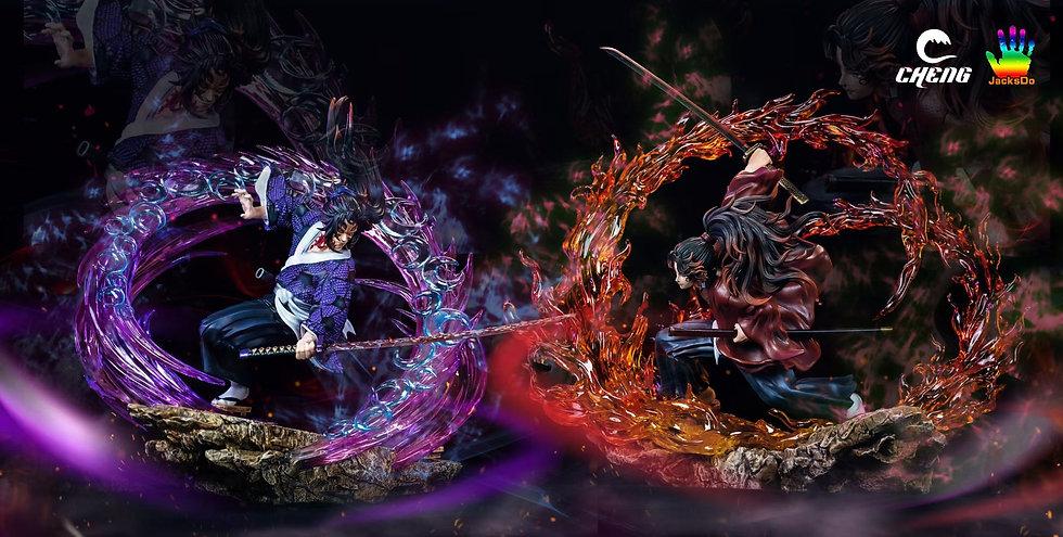 Cheng X JacksDo Studio Tsugikuni Yoriichi vs Upper Rank 1 Kokushibo