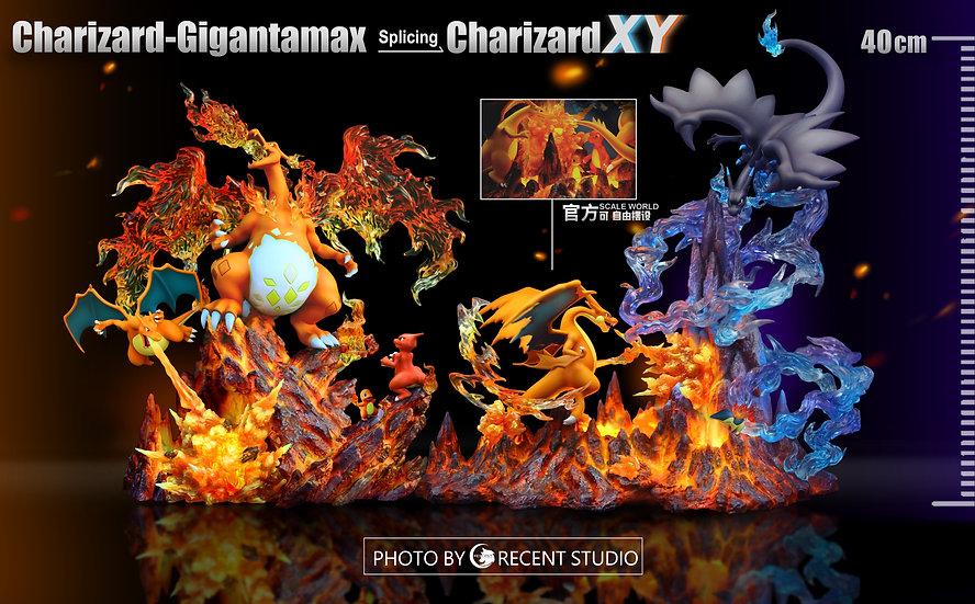 Cresent Studio -Pokemon Mega Charizard XY