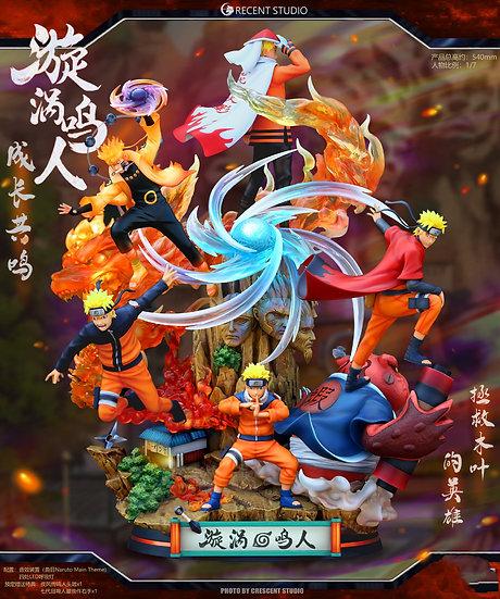 Crescent Studio Naruto Shipudden - Uzumaki Naruto (Grown Up Collection)