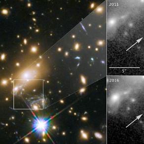 Grâce au télescope Hubble, des scientifiques découvrent l'étoile la plus lointaine jamais détectée