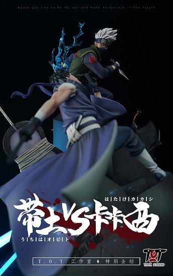 T.O.T Studio - Naruto Shippuden the 4th Great Ninja War Obito vs Kakashi